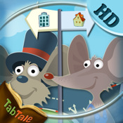 The Town Mouse and the Country Mouse - An Interactive Children`s Story Book HD