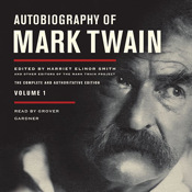 Autobiography of Mark Twain, Vol. 1 (by Mark Twain) marks book mark net