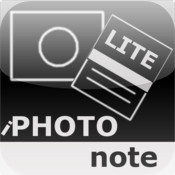 iPhotoNote Lite - Taking Photo Notes And Creating PDF Files Made Easy