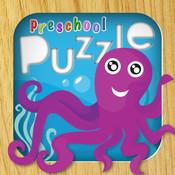 Animal Puzzles for Preschool Children