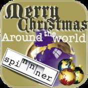 Merry Christmas Around The World Spinnner