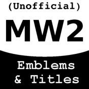 MW2 Emblems and Titles (Unofficial)