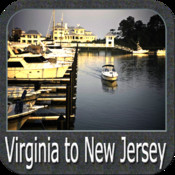 Marine: Virginia to New Jersey - GPS Map Navigator