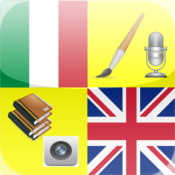 iDict - English Italian - English English Dictionary ( Special English Italian Dictionary version - Lookup English word from Dictionary Camera - Including 2500 English Phrase for Italian)