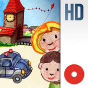 Toddler`s Seek & Find: My Little Town (In The Morning). An interactive activity book for all ages.