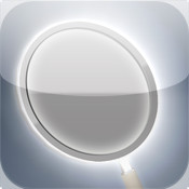 Night Mirror for iPhone - light up your face - pocket mirror