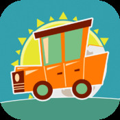 A Day`s Ride - cartoonish fun drive with transport cars & vehicles for kids puzzle game