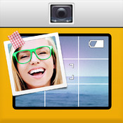 phoTWO - make a photo with both cameras at once to collage yourself into any image! Create your own photo story!
