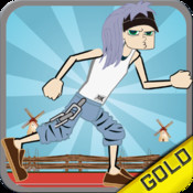 Hippies Hurdles Games - The 70` coolest sports games - Free Edition unlimited psp games