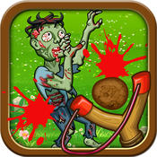 Hit Zombies - hitting with slingshots zombies Free