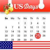 US Days - Remind holidays, special days, countdown to next event