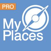My Places Pro: Save your favorite places places