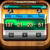 Countdown Manager-Best Countdown Editor with Alarm and Notification giant countdown calendars