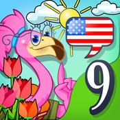 English for kids 9: Nature and Seasons by Mingoville – includes fun language learning games and activities for children