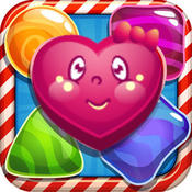 Candy Fruit Cartoon Mania - Best Matching 3 Puzzle Free Game for Children and Kids