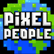 Pixel People Professions people pixel people
