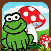 AAA jumping frog adventure :Catching Smashy Mushrooms,The hero of streams,ponds,lakes,Smiley frog smashy wanted