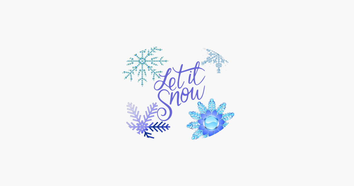 Wintry Stickers Holiday Puns