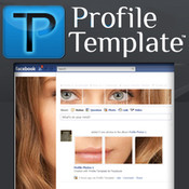 Profile Template For Facebook profile background