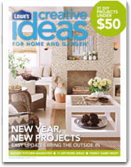 Lowe`s Creative Ideas Magazine