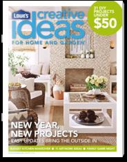 Lowe`s Creative Ideas Magazine