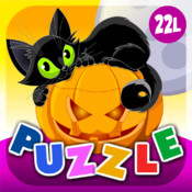 Abby Monkey® Halloween Animals Shape Puzzle for Toddlers and Preschool Explorers