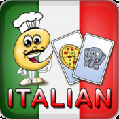 Learn Italian Baby Flash Cards : Language Learning Flashcards for Preschool Kids to Adults