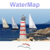 Marine : USA All (West, East, Great Lakes, Rivers) - Water Map Navigator lakes rivers streams