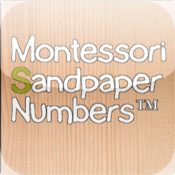 Montessori Sandpaper Numbers for iPad