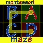 Montessori Alphabet Maze Free