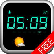 Clock Free: Clock/Alarm/Weather