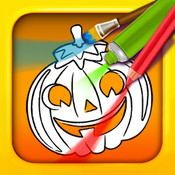 Halloween Color & Draw: coloring book