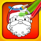 Christmas Color & Draw: coloring book HD