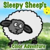 Sleepy Sheep`s Color Adventure