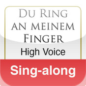Du Ring an meinem Finger, Schumann (High Voice & Piano - Sing-Along)