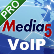 Media5-fone Pro VoIP SIP Mobile Softphone