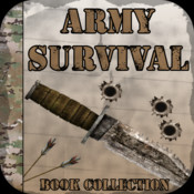 Army Survival Book Collection - Army, Navy, Air Force, SAS and Special Operations Forces Guide