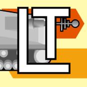 Lazer Tank Free Side Scrolling Battles scrolling text ticker