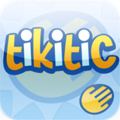Tikitic : the word game with a fun keyboard combining  tetris  hangman quizz and memory ! tetris clone