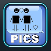 Message Pics Pro - Fun messaging pictures, emotes and text effects (compatible with text message / SMS / WhatsApp Messenger / Skype / AIM and email)