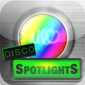 Disco Spotlights with Flash light and Ambient Light light accounting