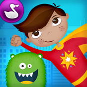 Monsters vs Superheroes Comic Book Maker - by Duck Duck Moose