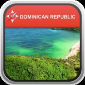 Offline Map Dominican Republic: City Navigator Maps