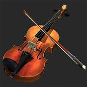 violin pro musical instrument with accord and rhythm free musical