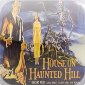 House on Haunted Hill - Starring Vincent Price - Horror Movie haunted hotel