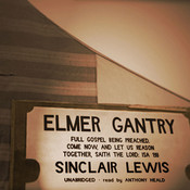 Elmer Gantry (by Sinclair Lewis)