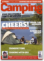 Camping Magazine - the UK`s only monthly magazine for tent campers