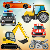 Vehicles and Cars for Toddlers and Kids : play with trucks, tractors and toy cars ! FREE app cheap used cars online