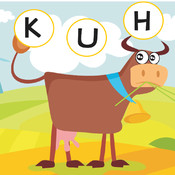 ABC German Learning With Fun - Free Learning Game For Spelling Out Farm Animals