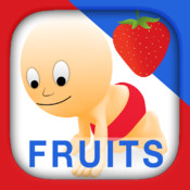 Fruits and Vegetables for Babies : Touch HD Images of Fruit or Vegetable to Hear and Read its Name with Best Flashcards Game and Top Fun for Kids